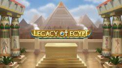 【プロモ終了】新スロットご紹介&LEGACY OF EGYPTプロモ!